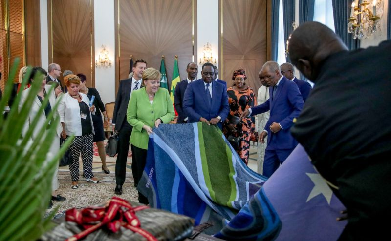 Merkel in Senegal